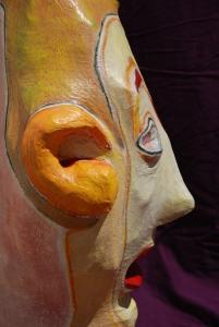 Escultura Cabezudo
