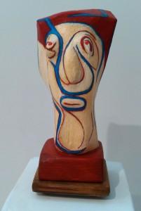 Escultura Dama de noche