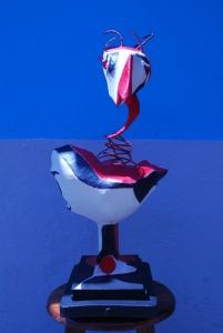 Escultura Gallina mobil