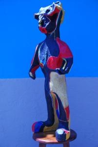 Escultura Guanche torero