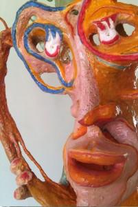 Escultura Neptuno Cantor