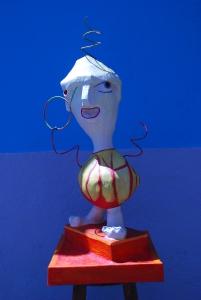 Escultura Niño con pirulí