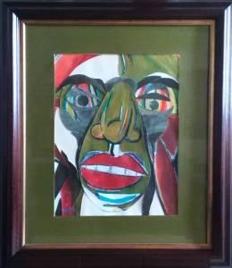 Pintura Maruja retrato