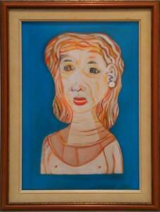 Pintura Retrato de Natalia