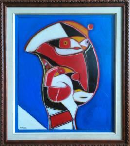 Pintura Retrato Dualidad